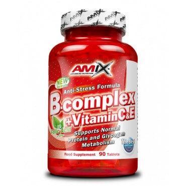 Amix BComplex + Vitamin C&E 90 kapslí