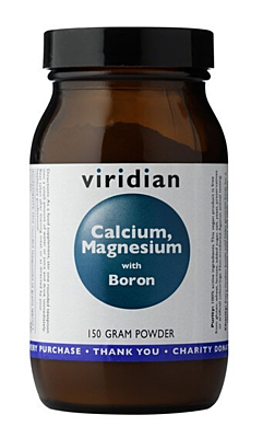 Viridian Calcium Magnesium with Boron Powder 150 g