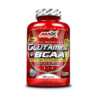 Amix Glutamine + BCAA 360 tablet