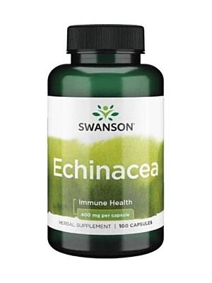 Swanson Echinacea (Třapatka nachová) 400 mg 100 kapslí