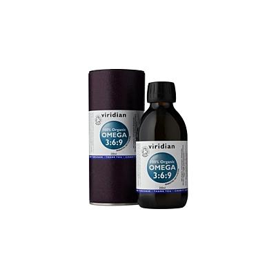 Viridian Omega Oil Organic 200 ml