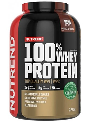 Nutrend 100% Whey Protein NEW 2250 g