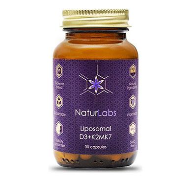 NaturLabs Liposomální Vitamín D3 + K2 30 kapslí