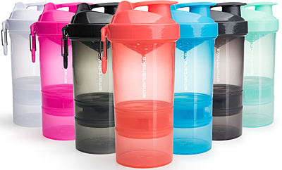 SMARTSHAKE Shaker Original 2GO ONE 600 ml