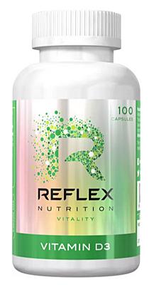 Reflex Nutrition Vitamín D3 100 kapslí