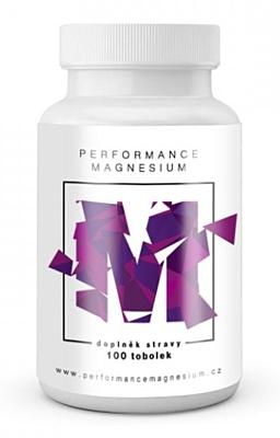 BrainMax Performance Magnesium 1000 mg (Hořčík + Vitamín B6) 100 kapslí