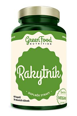 GreenFood Nutrition Rakytník 60 kapslí