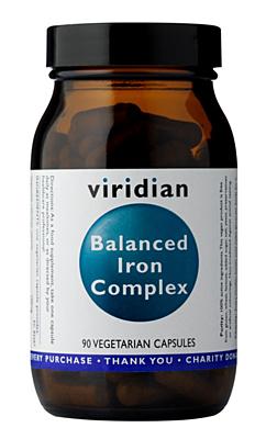 Viridian Balanced Iron Complex 90 kapslí