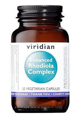 Viridian Enhanced Rhodiola Complex 90 kapslí (Rozchodnice růžová s adaptogeny)