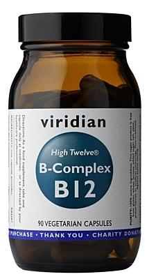 Viridian B-Complex B12 High Twelwe 90 kapslí