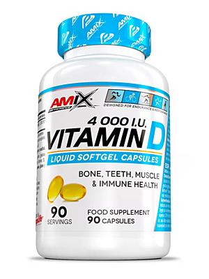 Amix Vitamín D 4000 I.U. 90 kapslí