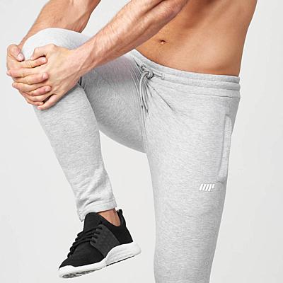 MyProtein Tru-Fit pánské běžecké tepláky - šedé