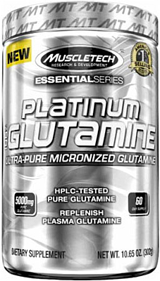 MuscleTech Platinum 100% Glutamine 300 g