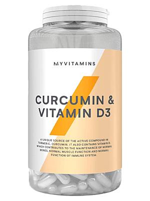 MyProtein Kurkuma & Vitamín D 60 kapslí