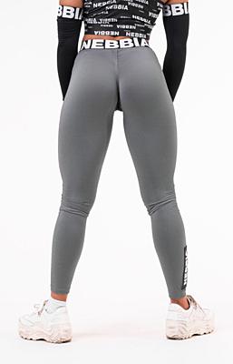 Nebbia Scrunch butt dámské sportovní legíny 691 šedé